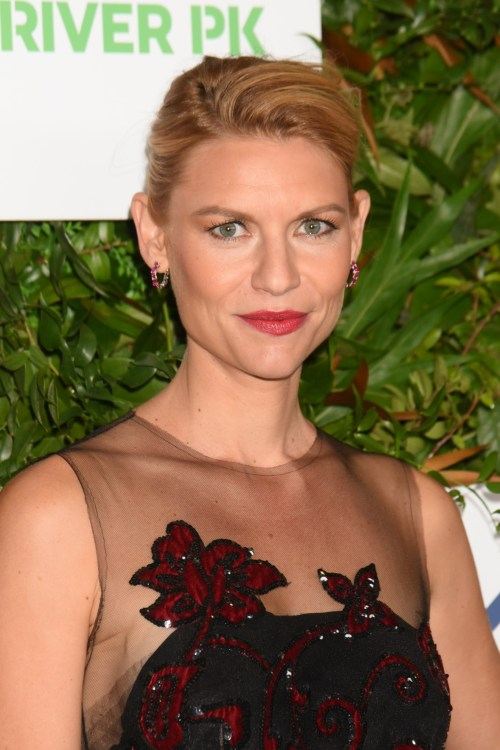 Claire Danes at the 20th anniversary gala for Hudson River Park