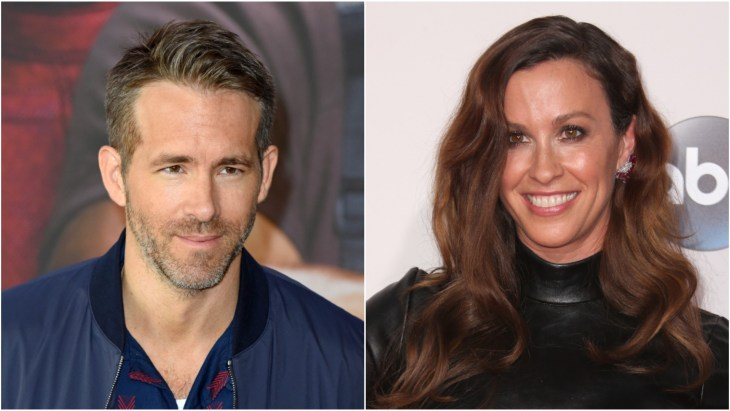 Ryan Reynolds promoting his movie Deadpool 2 in Germany. Alanis Morissette on the red carpet at the 2015 American Music Awards.