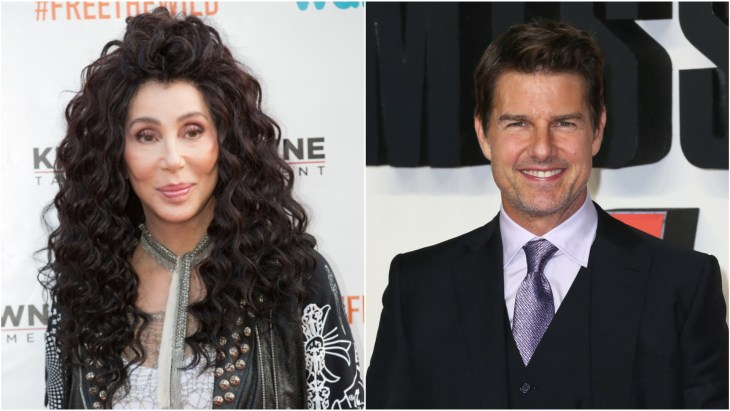 Cher & Tom Cruise Early
