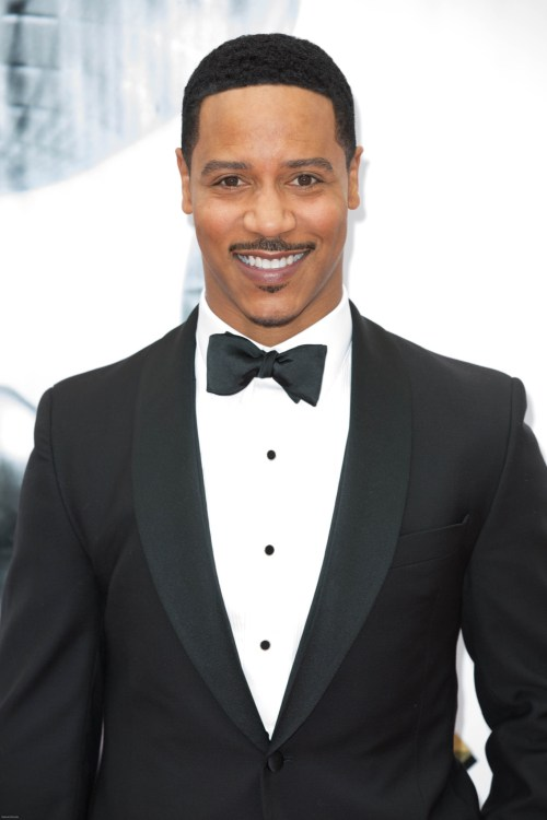 Brian White at the 48th NAACP Image Awards in a tux