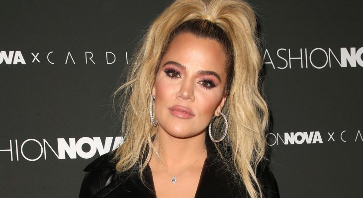 Khloe Kardashian at Cardi B fashion nova event