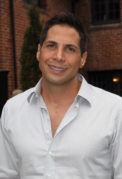 Joe Francis at the GLEH/Los Angeles LGBT Center's Garden Party