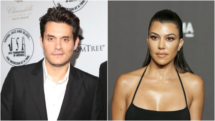 John Mayer at the 15th annual A Great Night In Harlem Gala and Kourtney Kardashian at the 2018 LACMA Gala