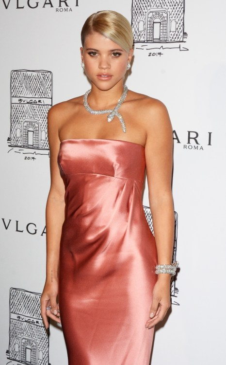 Sofia Richie at the Bvlgari Flagship Store Reopening in NYC
