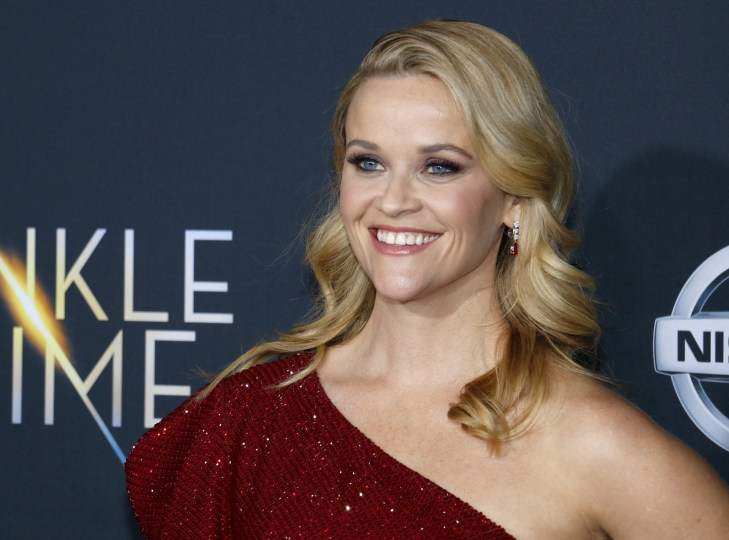 Reese Witherspoon at premiere of 'A Wrinkle In Time' in Los Angeles