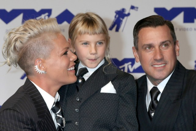 Pink, Carey Hart and daughter Willow