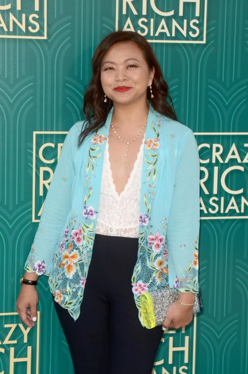 Adele Lim at Crazy Rich Asians premiere