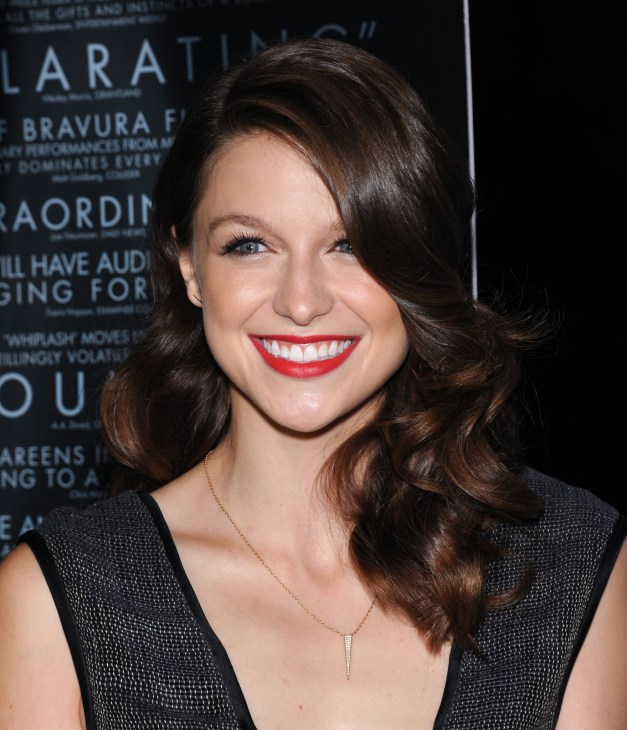 """Melissa Benoist arrives to the """"Whiplash"""" Los Angeles Premiere on October 6, 2014 in Los Angeles, CA"""