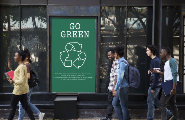 colleges go green