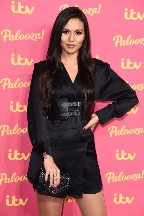 Olivia Olson arriving for the ITV Palooza at the Royal Festival Hall, London.