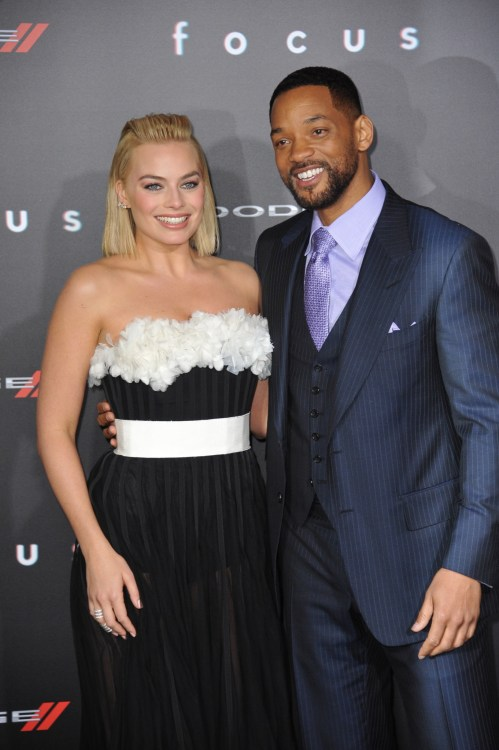 Will Smith and Margot