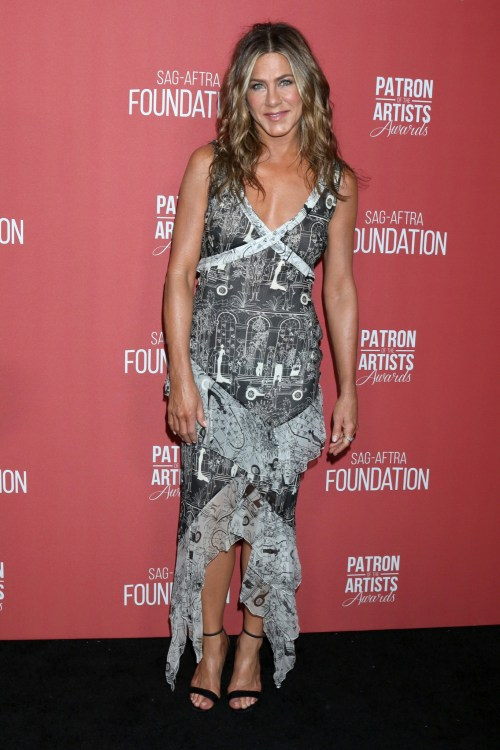 Jennifer Aniston at the 4th Annual Patron of the Artists Awards