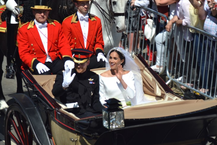 Windsor, Berkshire / United Kingdom - May 19th 2018: Harry and Meghan's wedding