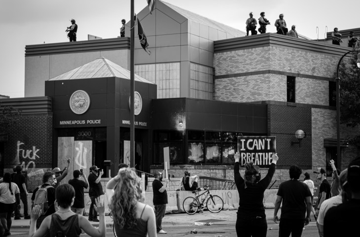 Minneapolis Police Brutality Protest