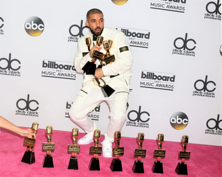 Drake at the 2017 Billboard Awards Press Room at the T-Mobile Arena on May 21, 2017 in Las Vegas, NV