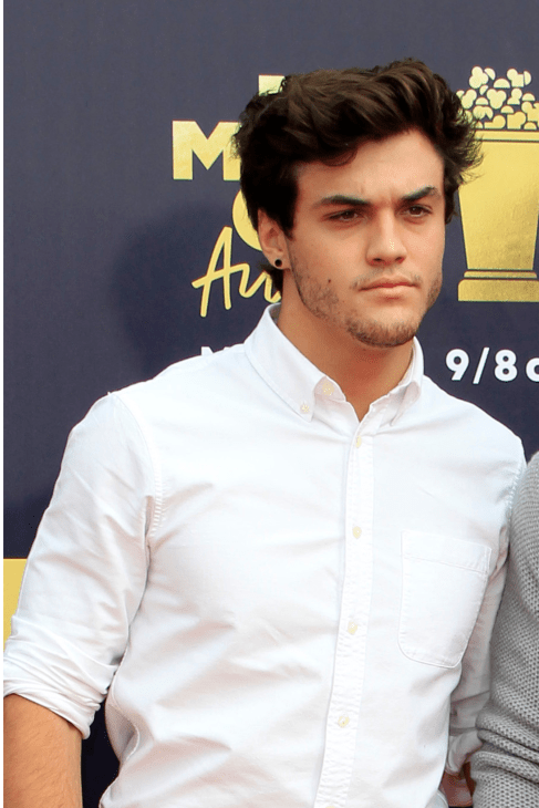 Ethan Dolan at the 2018 MTV Movie and TV Awards