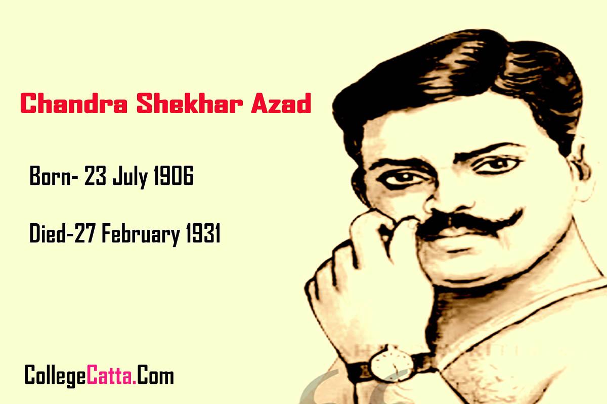 Chandra Shekhar Azad Information Biography in Marathi Language