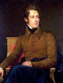 Lamartine peint par François Gérard, 1831