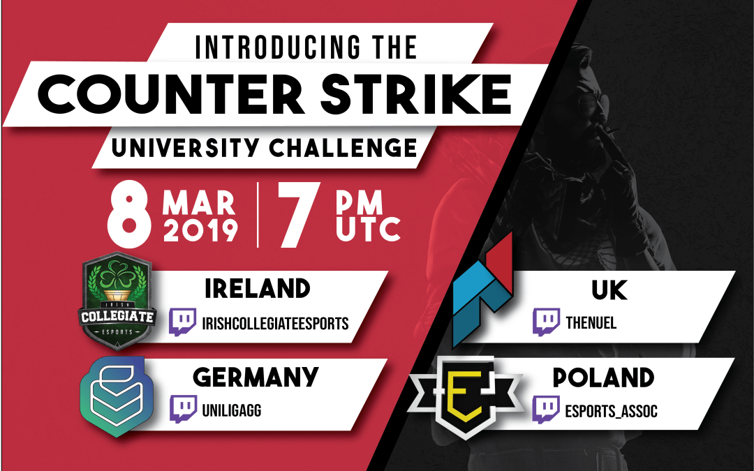 ANNOUNCING: COUNTER STRIKE UNIVERSITY CHALLENGE