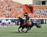 cowboy and flag osu
