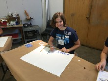 A student in Watercolor Painting