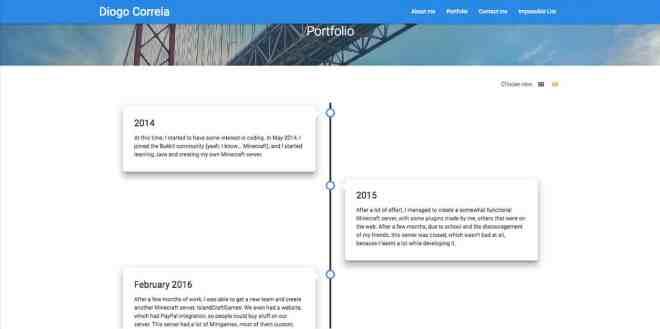 Diogo Correia Website