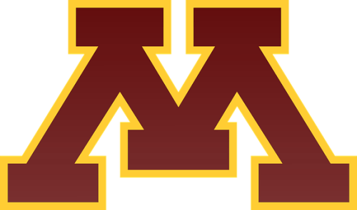 The logo of U of M one of the best colleges in Minnesota