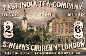 East India Tea Company - They Pass on the Savings to You!