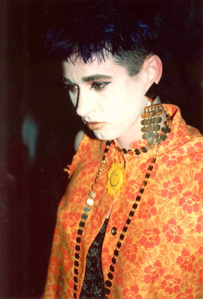 New York City's club scene in the late 1980s often celebrated androgyny.