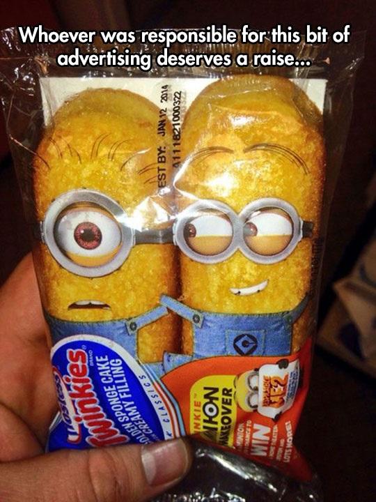 minion-twinkies