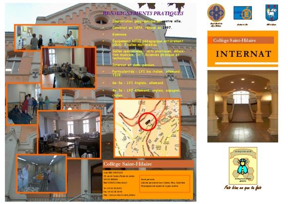 brochure internat 1