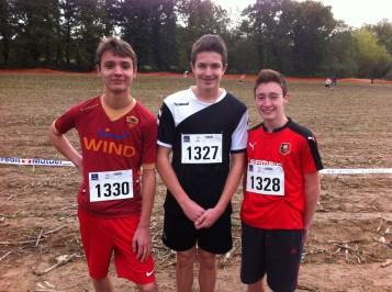 minimes 2 : Lucas, Merlin et Julien