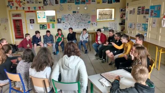 Conseil d'élèves du 4 mai 2017 en 6èmeB