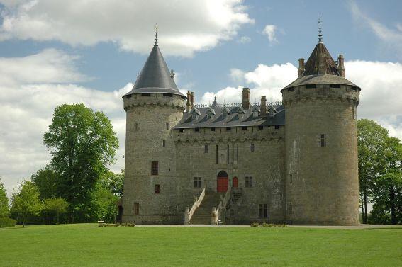 le chateau de Combourg