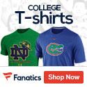 College T-shirts at Fanatics.com