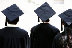 rear-view-of-students-wearing-graduation-caps