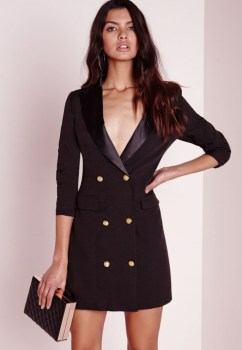 Fashion Issue 6- Tuxedo dress- Source- www.missguided.co.uk