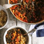 Autumn Recipes: Kale & Chickpea Stew
