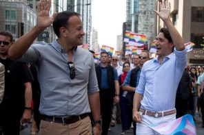 Varadkar, Trudeau and Macron Host Charity Car Wash For Magaluf Trip