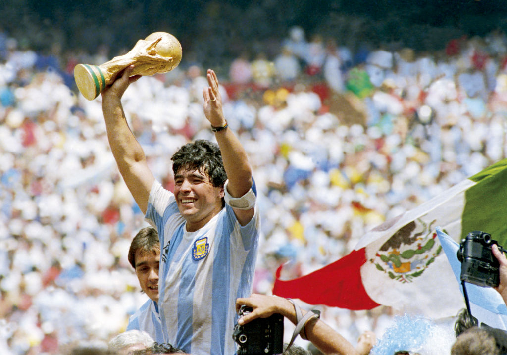 Diego Maradona - El Grafico Sports Archive