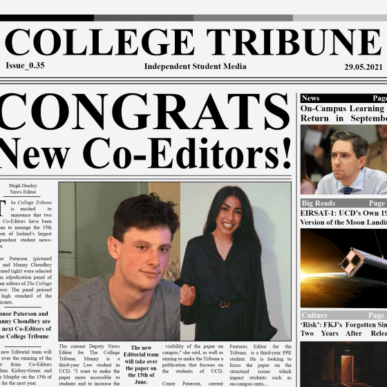 New Tribune Coeditors
