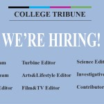 Be a Part of The College Tribune's 35th Volume!