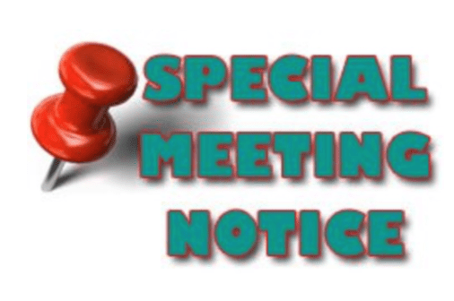 SPECIAL-MEETING