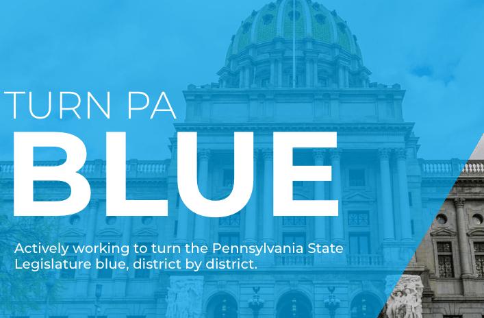 Turn PA Blue logo