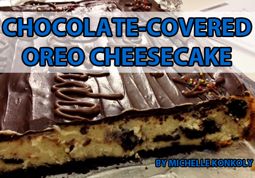 Chocolate-Covered Oreo Cheesecake