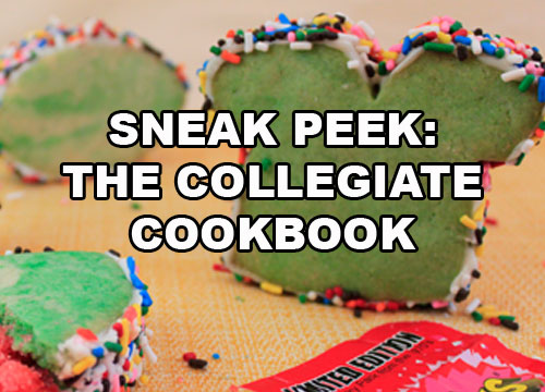 Fourth-Quarter KABOOM Cookies from the Collegiate Cookbook, available on Amazon