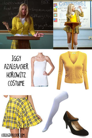 Iggy Azalea / Clueless costume ideas from CollegiateCook.com