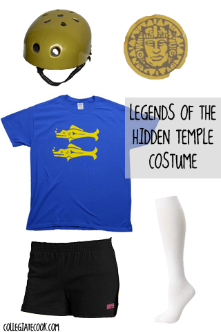 Legends of the Hidden Temple costume ideas from CollegiateCook.com