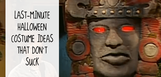 Legends of the Hidden Temple costume ideas - Last-minute costume ideas