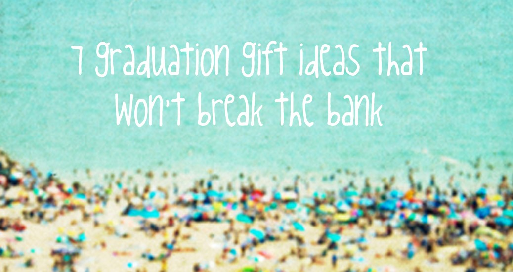 graduation gift ideas 2015